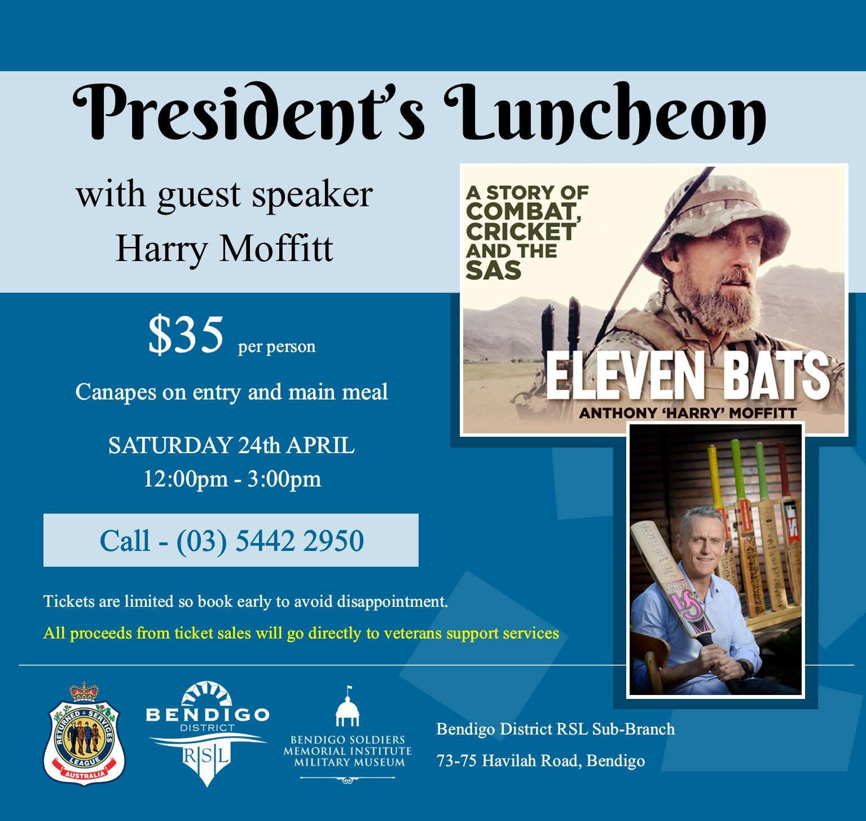 President's Luncheon
